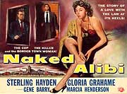 Naked alibi in the gangster movie database